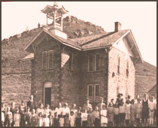 Morrison School House - ca. 1945