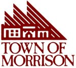 Rolf Paul designed the distinctive logo for the town of Morrison, as well as many others in Morrison.
