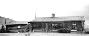The Cox Cabin, date unknown.